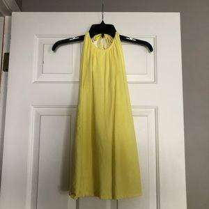 Victoria Secret Yellow Dress